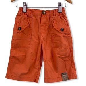 Jean Bourget Bright Orange Shorts Size 6
